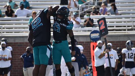 Coastal Carolina football climbs in AP Top 25 ranking