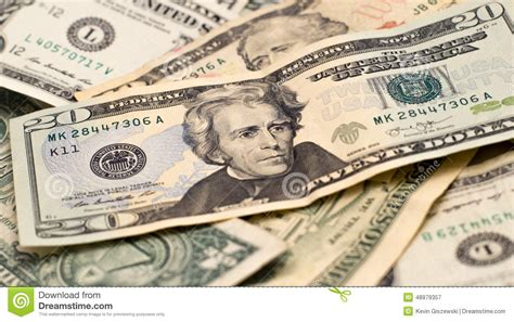 Usa Currency Money Stock Image. Image Of Debt, Money