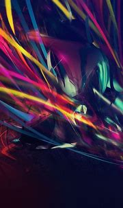 Dark Colorful Patterns Disco Neon Android Wallpaper free ...