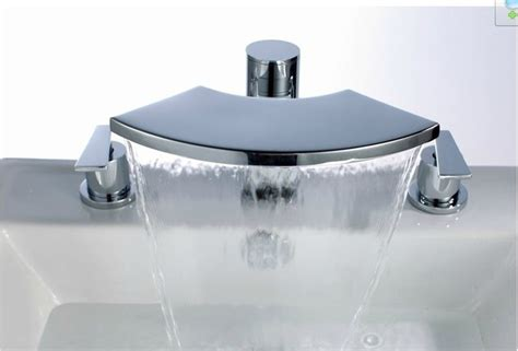 Bathtub Faucet When by New Deck Mount Waterfall Tub Faucet Chrome Finish 1066