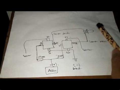 cara memasang relay lu motor mobil dengan mudah youtube
