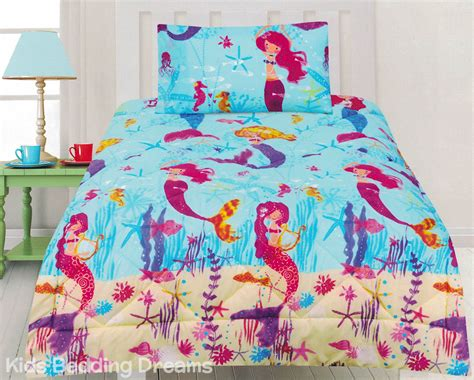 mermaid comforter set mermaids comforter set quilt doona mermaid bedding