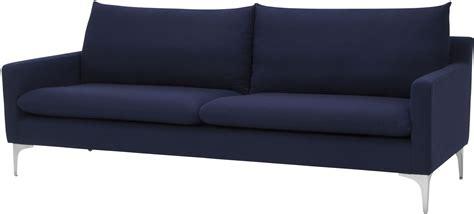 anders navy blue sofa  nuevo coleman furniture