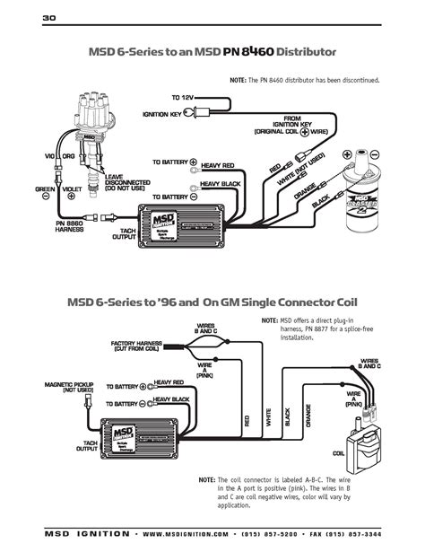 Msd Wiring Diagram Schematic by Msd Ignition 6al 6420 Wiring Diagram Volovets Info