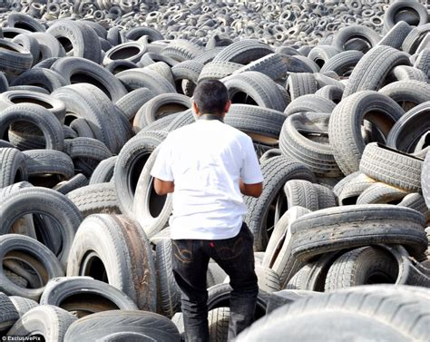 World's Biggest Tyre Graveyard