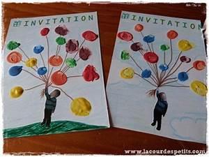 Carte Anniversaire Pour Enfant : fabriquer un carton d 39 invitation pour son anniversaire la cour des petits ~ Melissatoandfro.com Idées de Décoration