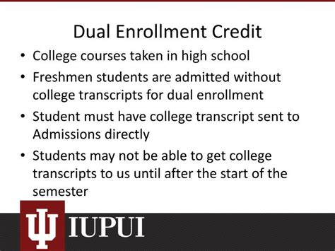 Ppt  An Update On Transfer Credit, Dual Enrollment & Test