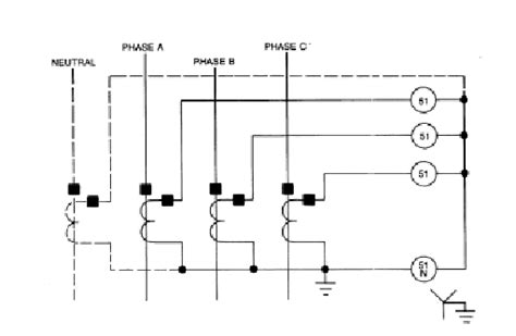 Contemporary Wye Delta Transformer Wiring Diagram Pattern ...