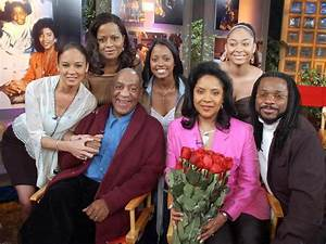 a real TV family....The Huxtables featuring Cliff (Bill ...