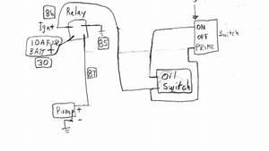 Wiring Diagram Database  Oil Pressure Safety Switch Wiring