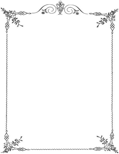 elegant page borders ghg page