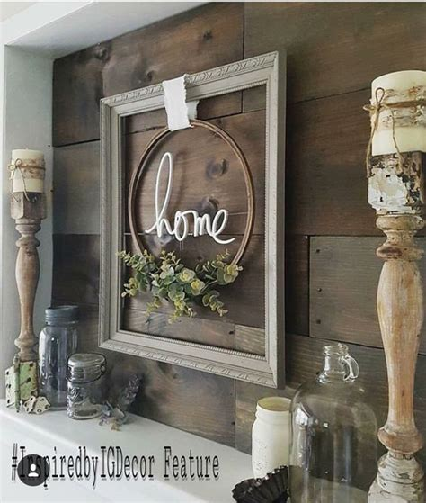 The idea of coming back to our roots with rustic decor is a sweeping trend throughout the country. 18 Rustic Wall Art & Decor Ideas That Will Transform Your Home - Craft-Mart