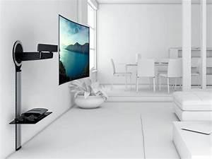 Fernseher An Die Wand Hängen Ohne Halterung : vogels next 7345 tv wandhalterung schwenkbar designmount ~ Michelbontemps.com Haus und Dekorationen