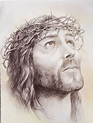 Jesus Christ Pencil Sketch Images | Anniversary | Christ ...