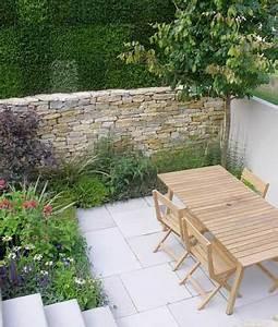 Construire Un Mur En Pierre : construire un mur en pierre comme cl ture de terrasse ~ Melissatoandfro.com Idées de Décoration