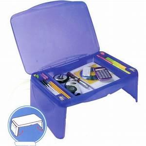 Kids Storage Lap Desk Blue In Lap Desks
