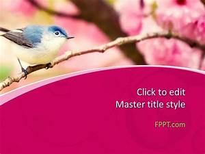 Microsoft Powerpoint Themes 2010 Free Bird Powerpoint Template Free Powerpoint Templates