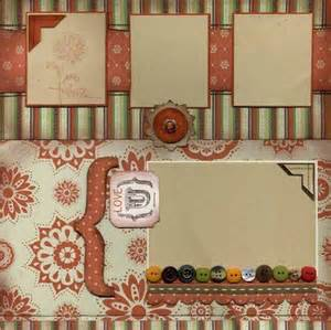 Stampin Up Scrapbook Page Layouts