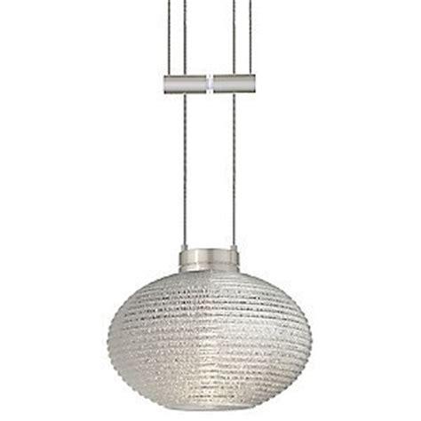 lasso glitter adjustable pendant by besa lighting