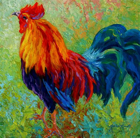 band of gold rooster by marion