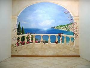 oeil trompe wall mural trompe loeil curtains wall murals With decor mural trompe l oeil