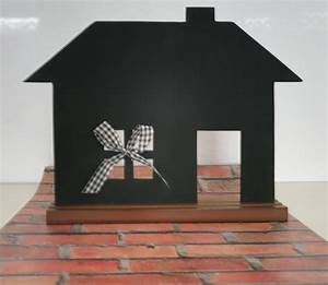 Tafel Zum Beschriften : kreidetafel tafel haus zum beschriften ca 35 x 45 cm ~ Lizthompson.info Haus und Dekorationen