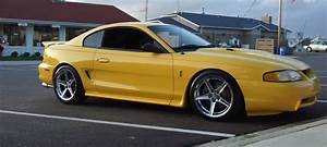 """Ford Mustang Wheels — Another hot SN95 SVT Cobra sitting on a set of 18""""..."""