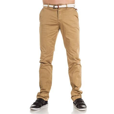sixth june pantalon chino homme havane tendance