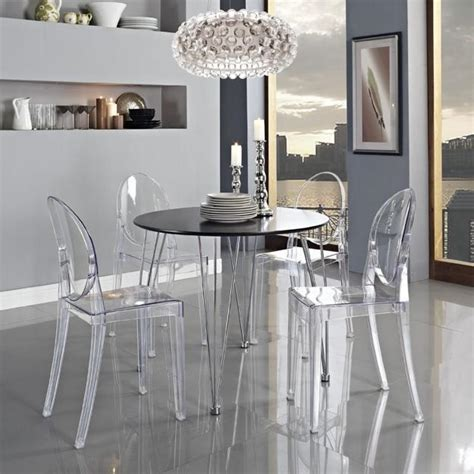 tulip table and ghost chair timelessly modern furniture
