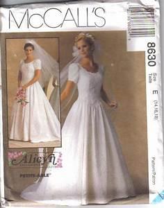oop bridal wedding gown bridesmaid dress plus size mccalls With plus size wedding dress patterns