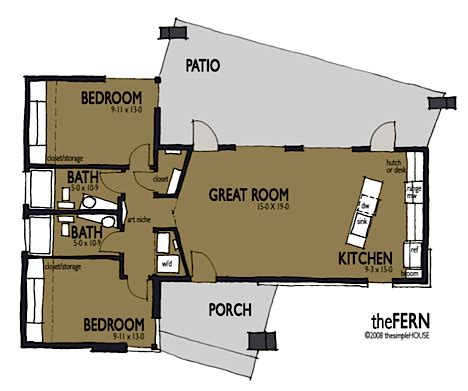 simple efficient house plans jetson green the simple house offers modern affordable