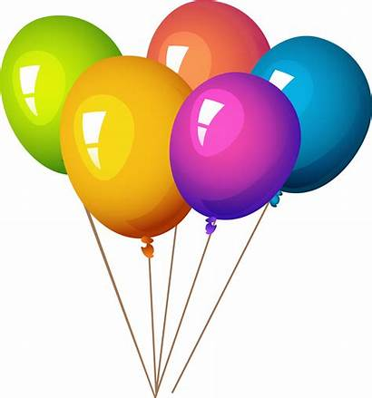 Balloons Colorful Clipart Party Balloon Poppers Pngpix