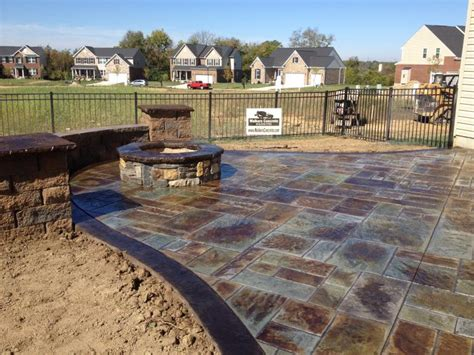 patio and hearth cincinnati walkers concrete llc cincinnati outdoor fireplaces and
