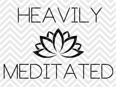 These svg images were created by modifying the images of pixabay. Heavily Meditated Yoga Lotus SVG and DXF Cut File • PDF ...