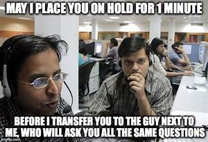 indian call center - Imgflip