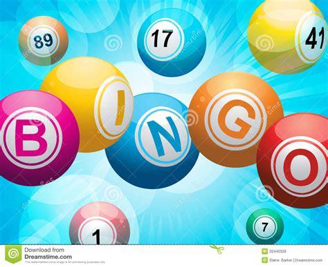 bingo ball starburst background royalty  stock