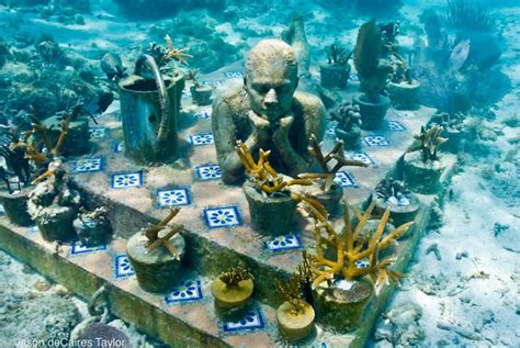 underwater museum cancun mexico quintana roo
