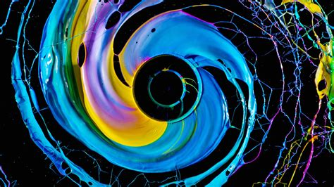 'Black Hole' photo series lets the paint fly by way of ...