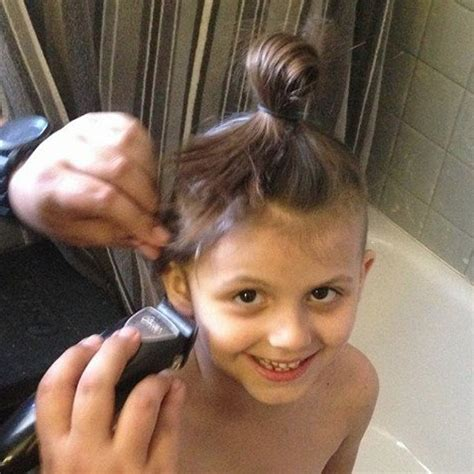 Mom Shaves Daughters Hair Off Popsugar Moms