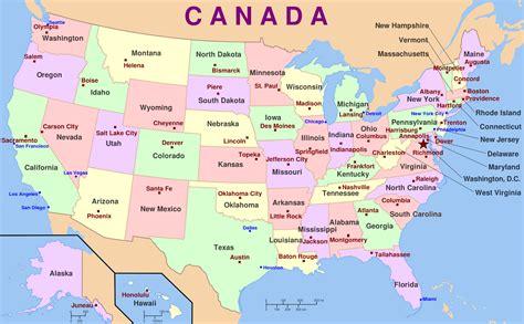 map  usa   states  capital cities talk