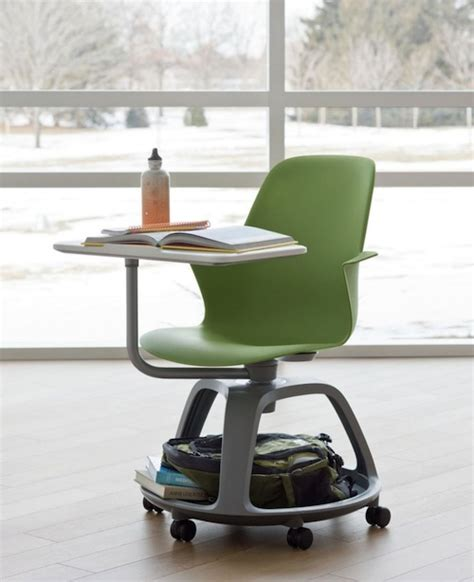 student rolling desk chair ideo and steelcase unveil a desk for the future of