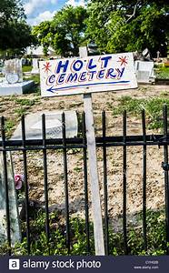 Holt Cemetery Sign, New Orleans, LA Stock Photo, Royalty ...