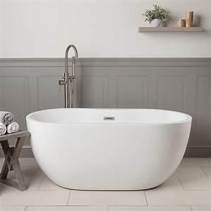 Vintage, Tub, U0026, Bath, Hudson, 55, Inch, Acrylic, Double, Ended, Freestanding, Tub