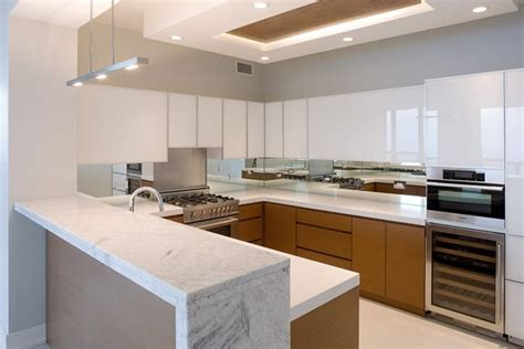 contemporary condo kitchendeb reinhart interior design group sleek modern minimal  tone