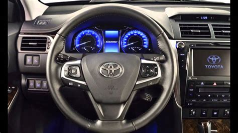 toyota camry  facelift  russia interior youtube