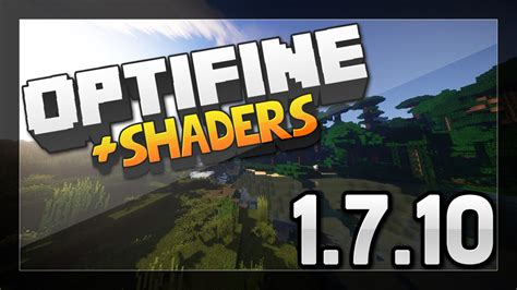 install minecraft optifine shaders mod
