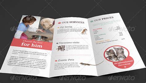 excellent pets animal brochure templates  facilitate