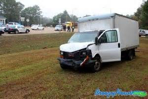 Van and Box Truck Collide Near Visitor's Center ...