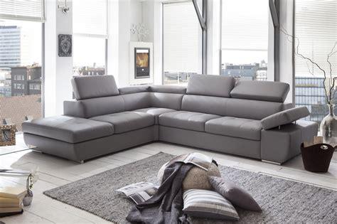 canap simili cuir gris canapé d 39 angle design en pu gris clair marocco canapé d