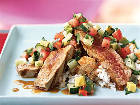 fresh tuna recipes cooking light
